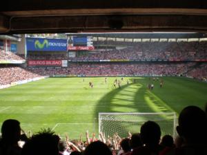 San Mamés Stadium in June 2007(Athletic Club 2 - Levante UD 0)