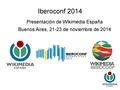 Estado de WMES - Iberoconf 2014.pdf