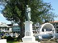 Estatua Simón Bolívar en Colón.JPG