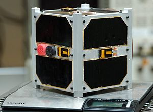 Small satellite - ESTCube-1 1U CubeSat