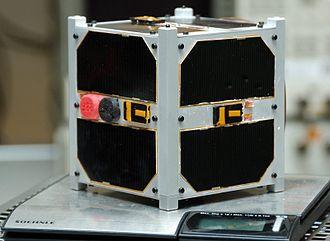 Small satellite - ESTCube-1 1U CubeSat