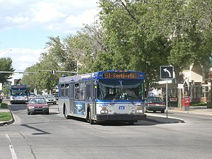 Edmonton Transit Service - Bus on Route 51