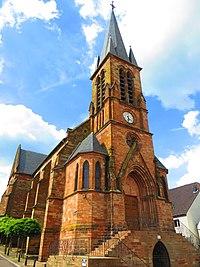 Etzling Église Saint-Hubert.jpg