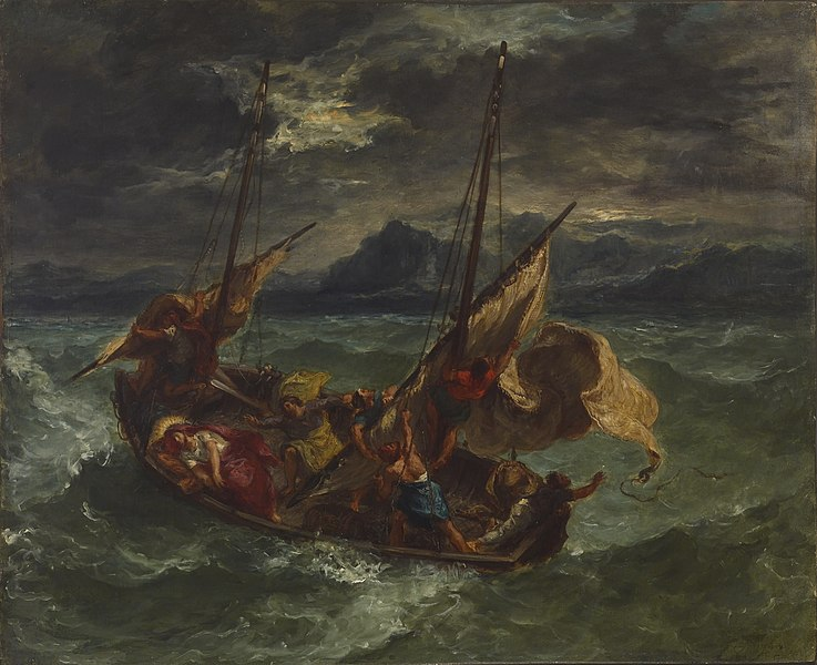 File:Eugène Delacroix - Christ on the Sea of Galilee - Walters 37186.jpg