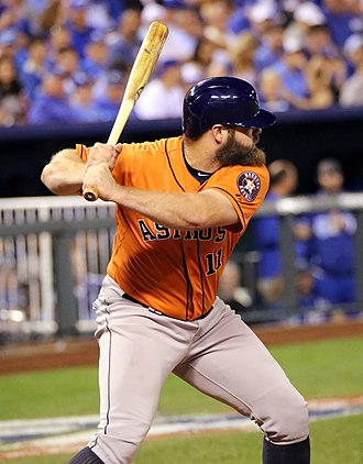 Evan Gattis - Evan Gattis with the Houston Astros