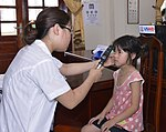 Eye screening for kindergarten children in Quoc Oai district of Hanoi (14331074793).jpg