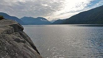 Førde Fjord - Image: Førdefjorden August