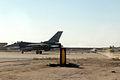 F-16 performs a barrier engagement certification at Kirkuk Regional Air Base.jpg