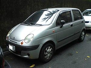 Formosa Automobile Corporation - Formosa Matiz hatchback.