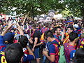 FC Barcelona fans - Champions League Final 2015 , Barcelona-Juventus, Berlin.JPG