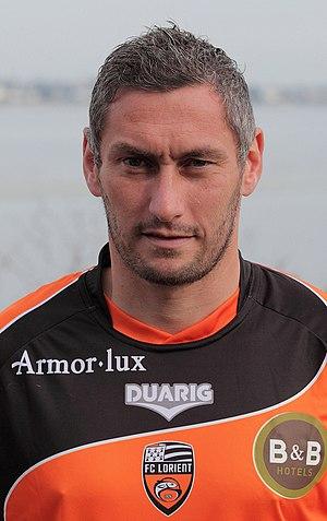 Olivier Monterrubio - Image: FC Lorient 2010 2011 Olivier Monterrubio