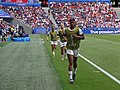 FIFA Women's World Cup 2019 Final - US substitutes warming up (2).jpg