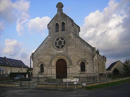 Église Saint-Martin de Landricourt