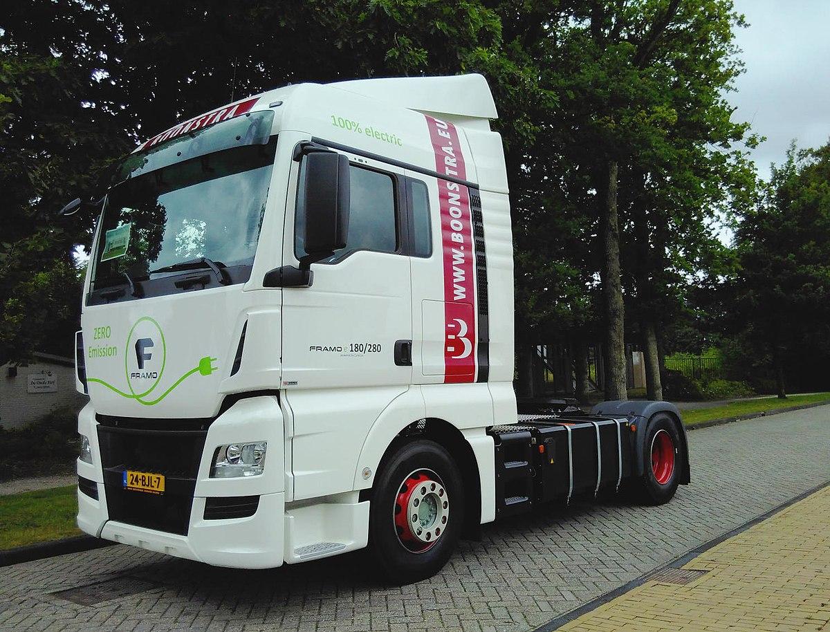 Elektrische vrachtwagen - Wikipedia