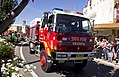 FRNSW urban tanker in the SunRice Festival parade in Pine Ave (2).jpg