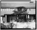 FRONT ENTRANCE, FACING WEST, STRAIGHT VIEW - Bryce Canyon Lodge, Bryce Canyon, Garfield County, UT HABS UTAH,9-BRYCA,1-8.tif