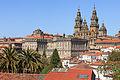 Fachada do Obradoiro e parte traseira do Pazo de Raxoi Santiago de Compostela-1.jpg