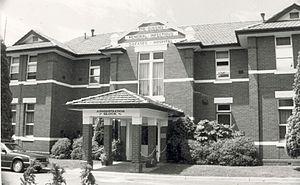 Fairfield Infectious Diseases Hospital - Image: Fairfieldadminblock