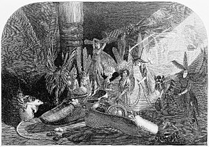 John Anster Fitzgerald - Fairy Gifts, Illustrated London News 1868