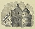 Falkland Palace, summit of the entrance Tower 1852.jpg