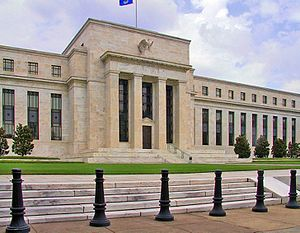 Lender of last resort - The Federal Reserve System headquarters in Washington, D.C.