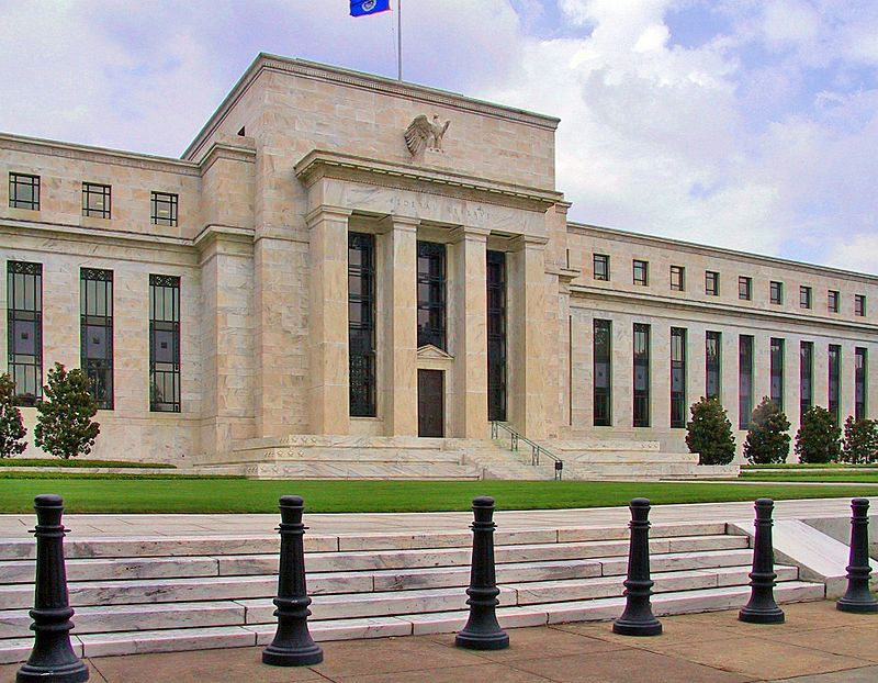 The Federal Reserve headquarters in Washington, DC - wiki