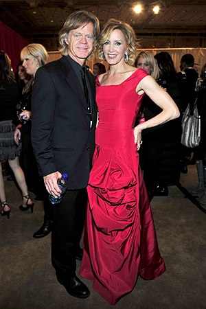 Felicity Huffman - Huffman and Macy at The Heart Truth in February 2010