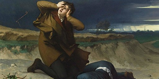 Ferdinand Pauwels - Luther's friend struck by lightning