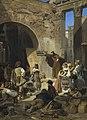 Ferdinand Piloty d. J. - Kapuzinerpredigt im Porticus Octaviae in Rom - 7972 - Bavarian State Painting Collections.jpg