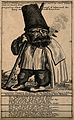 Ferenz Lupanschku, a characterful man who smokes hay. Engrav Wellcome V0007490ER.jpg