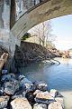Fernbridge 031317 pier scouring Caltrans.jpg