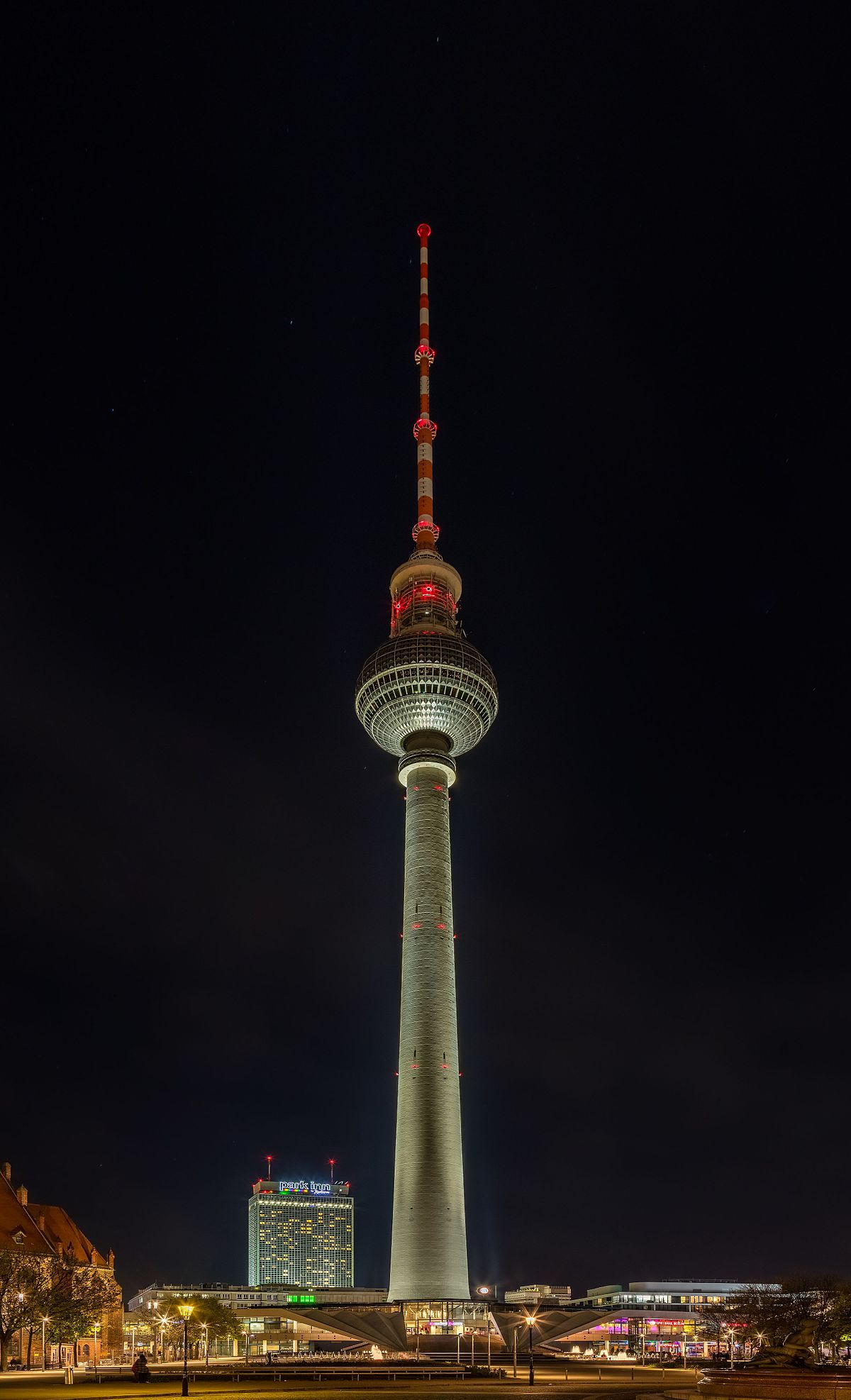 Torre de telecomunicaciones de Berlín - Wikipedia, la ...
