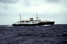 Ferry seen between Bodø and Spitsbergen.jpg