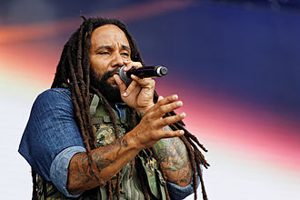 Ky-Mani Marley -  Vieilles Charrues Festival, 2014.