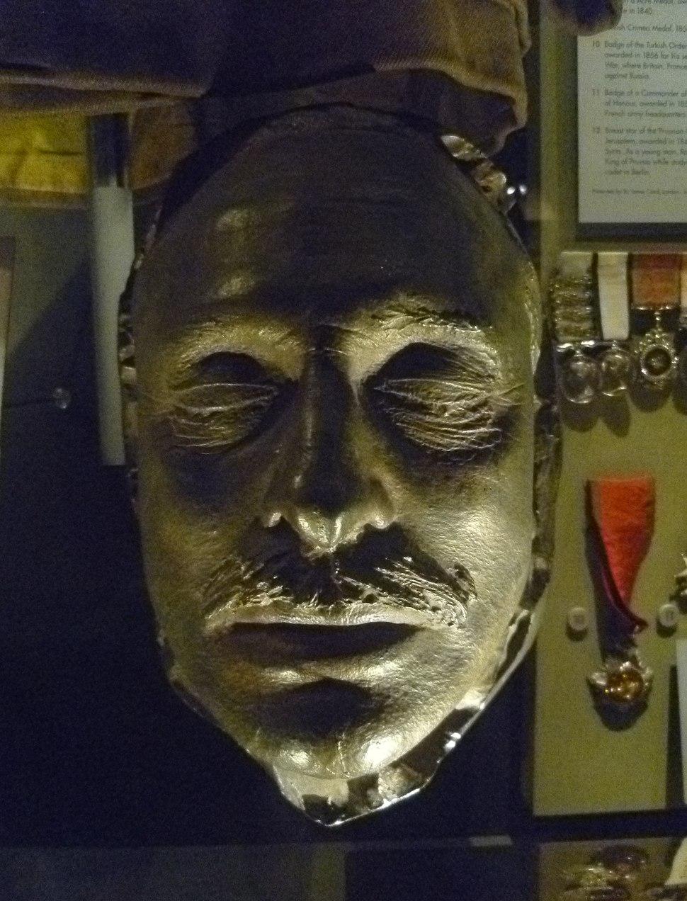 Field Marshal Douglas Haig death mask, Edinburgh Castle