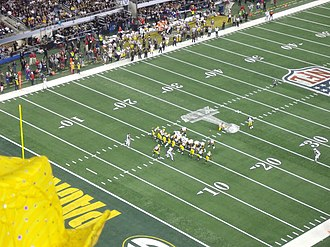 Super Bowl XLV - Steelers Field Goal Kick