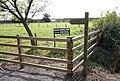 Fingerpost at Black House Farm, Long Lane (geograph 5100391).jpg