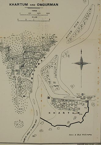 Anglo-Egyptian conquest of Sudan - Khartoum and Omdurman