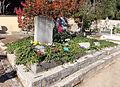 Firenze, cimitero degli allori, tomba di oriana fallaci, scrittore 01.JPG
