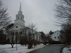 First Parish Church (Duxbury, Massachusetts) - Image: First parish church in Duxbury MA