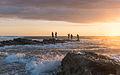 Fishermen at Sunset, Playa Santa Teresa, Costa Rica.jpg