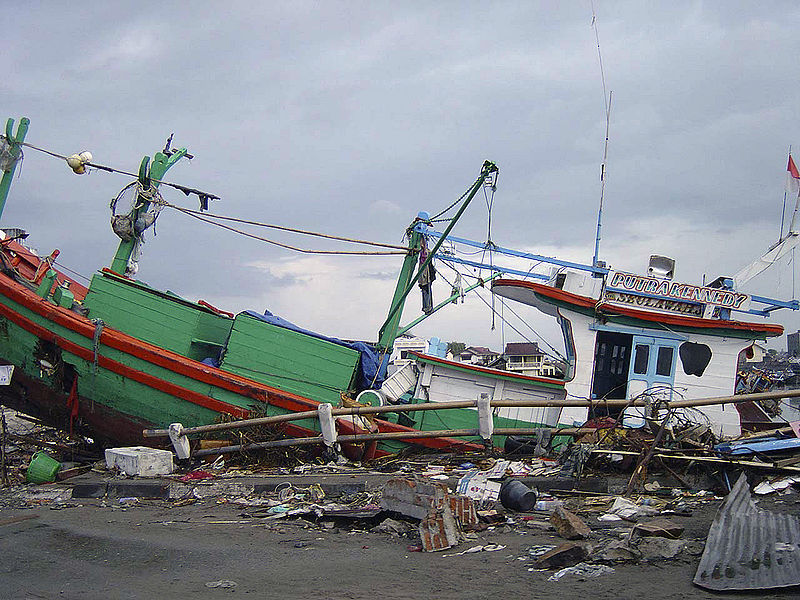 File:Fishing boat tossed ashore in Banda Aceh after 2004 tsunami DD-SD-06-07370.JPEG