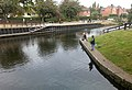 Fishing by Beeston Lock - geograph.org.uk - 1517585.jpg