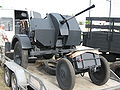 FlaK 38 anti-aircraft gun on a trailer during the VII Aircraft Picnic in Kraków (2).jpg