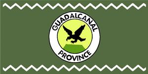 Guadalcanal Province - Image: Flag of Guadalcanal