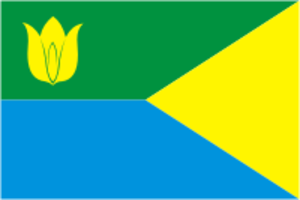 Kunashaksky District - Image: Flag of Kunashak rayon (Chelyabinsk oblast)