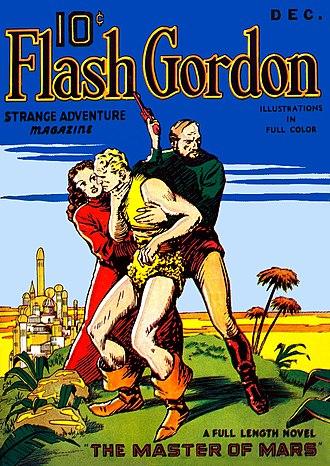 Flash Gordon - Cover of the December 1936 issue of Flash Gordon Strange Adventures