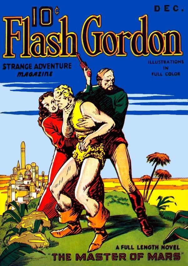 Flash Gordon Strange Adventures December 1936