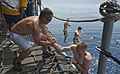Flickr - Official U.S. Navy Imagery - Sailors participate in a swim call after a Crossing the Line ceremony. (2).jpg