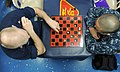 Flickr - Official U.S. Navy Imagery - Sailors play a chess match on the mess decks..jpg